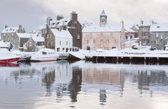 Lerwick Snow Scene