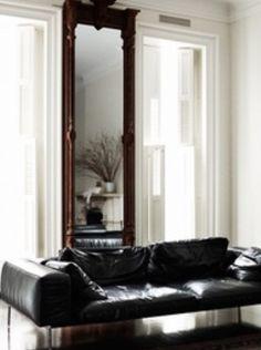 Chic and Stylish Monochrome Sitting Room