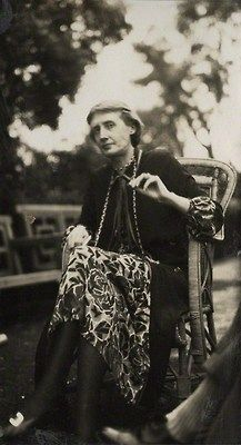 Virginia Woolf by Lady Ottoline Morrell, 1926