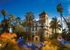 Hotel Alfonso XIII, Seville, Spain best place to stay close to everything most beautiful hotel was a real castle fyi get food at the local shop for the room ,room service not so great lol World Discovery, Real Castles, Small Ship Cruises, Travel Specials, Small Group Tours, Spain And Portugal, Cruise Travel, Beautiful Hotels, Best Hotels
