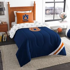 Auburn Tigers Athletic Stripes Bed in a Bag