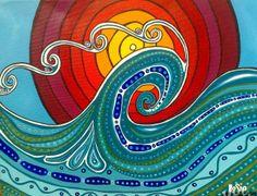Wave Acrylic on Canvas