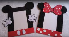 Discover recipes, home ideas, style inspiration and other ideas to try. Mickey Mouse Clubhouse, Minnie Mouse Party, Mouse Parties, Minnie Birthday, Diy Birthday, Mickey Photo Booth, Toddler Crafts, Crafts For Kids, Mickey Mouse Crafts