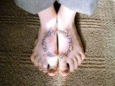lettrage tatouage calligraphie