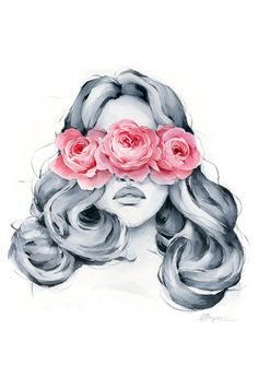 Rose blindfolded Rose blindfolded – Polina Bright This image has get 2 rep… - Everything About Painting