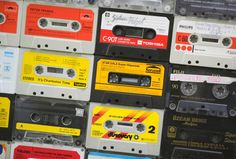 cassettes - tapes