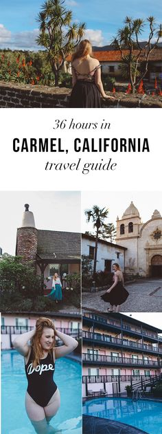 Ultimate Carmel Travel Guide - read it here: http://whimsysoul.com/36-hours-carmel-travel-guide/