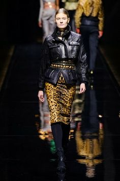 Balmain @ Paris Fashion Week winter 2014-15 - video
