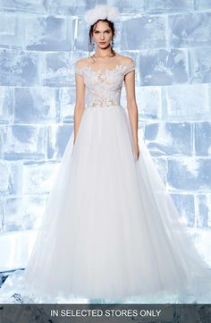 7f4726f12d19 Ines by Ines Di Santo Neive Off the Shoulder Ballgown