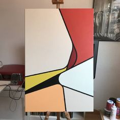 The Future Of Art – Investment Concepts – Buy Abstract Art Right Minimalist Painting, Minimalist Art, Abstract Geometric Art, Abstract Images, Geometric Designs, Geometric Shapes, Canvas Art, Abstract Painting Canvas, Painting Art
