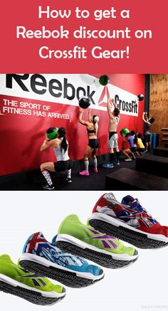 How to get 10% off crossfit gear @ Reebok. #fitness #workout #crossfit