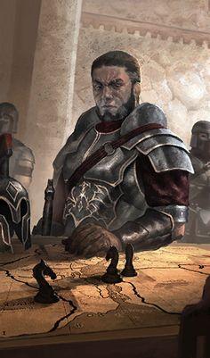 Commander Dojen of Sargaval Fantasy Character Design, Character Design Inspiration, Character Concept, Character Art, Concept Art, Dungeons And Dragons Characters, Dnd Characters, Fantasy Characters, Fantasy Rpg