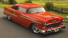 This car is absolutely stunning! Look at the shine and reflection of this vehicle. Exterior-wise, the fiberglass really makes a big difference on this vehicle and gives it a more classic beauty.