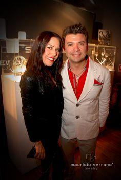 Stephanie Salas con Mauricio Serrano
