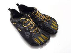 Fila Skele-Toes Bay Men's Running Shoes Size 8 Black Athletic 1PK14007-064 #Fila #RunningCrossTraining