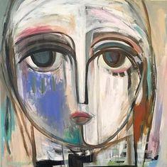 40x40 Acrylic on Wood Canvas, Craig Greene