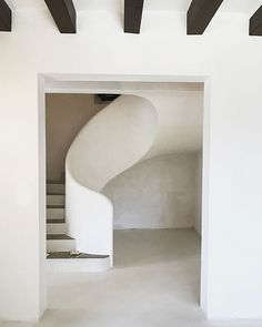 Mallorca Valldemossa. Carefully designed spaces, mixing powerful raw materials and minimal lines.