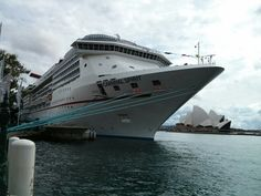 Carnival Spirit @ Circular Quay, Sydney