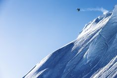 Travis Rice going big with a frontside 720 nose grab in Alaska.   quik.to/traviscollection #QuikSnow Photo: Serfas