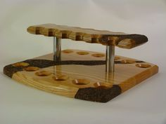 pipe rack with rustication