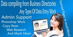 do any type of Data Entry work,and Virtual assistant Support by khanjatoi