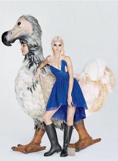 Kendall Jennfer for Vogue. Photo by Mert Alas and Marcus Piggott