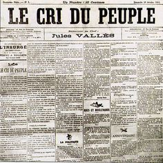 La Commune de Paris, 1871/Le Cri du Peuple