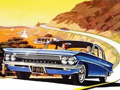 1961 Oldsmobile F-85 - Promotional Advertising Poster