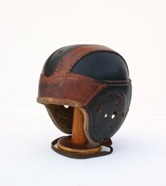 Vintage American Football Helmet