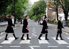The Beatles, Abbey Road: Kilts
