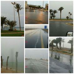 #شبكة_أجواء : #السعودية : أمطار #أملج تصوير : عبدالله العلوني  #رابطة_أجواء_الخليج  @g.s.chasers