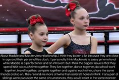 Dance Moms Quotes, Dance Moms Funny, Dance Moms Facts, Dance Moms Dancers, Dance Moms Girls, Brooke And Paige Hyland, Maddie And Mackenzie, Dance Moms Comics, Dance Moms Confessions