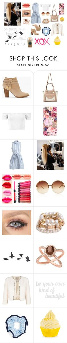 """""""Brights"""" by samanthadanetti on Polyvore featuring moda, White House Black Market, Miss Selfridge, Boohoo, Casetify, Milly, Linda Farrow, Jayson Home, Michael Kors y Jacques Vert"""