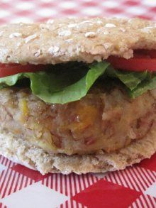 Veggie Burgers- pinto beans, cheese, carrot