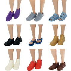 HIGH QUALITY SHOES DOLLS SIZE CLOTHING 15 PAIRS SHOES BOOTS HEELS TOY DOLL  D1