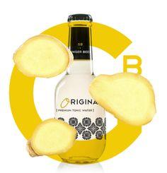 Inspiración yellow: The Original Ginger Beer