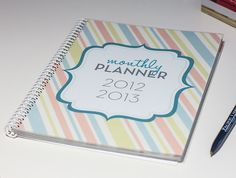 Jenna Sue: (Almost) Free Monthly Planner!