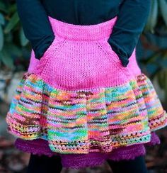 Coral Skirt - via @Craftsy