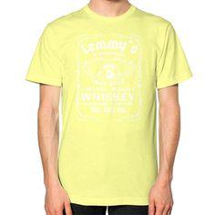 Apparels fastlemmy Unisex T-Shirt (on man)