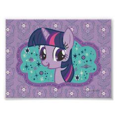 Twilight Sparkle Stars Print