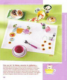 Pinterest Punto Croce Tovaglie | Punto Croce Tovaglietta Monocolore Schema Alfabeto Verde