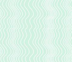 Stripe_on_Aqua_ fabric by art_on_fabric on Spoonflower - custom fabric