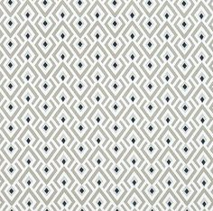 Taupe & Grey Cotton Fabric by the Yard Designer Drapery Fabric Curtain Fabric Upholstery Fabric Contemporary Neutral Gray Taupe Fabric G332  Fabric