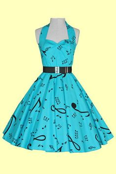 Cute music dress!!! #fashion #style #dress #music #musicfashion http://www.pinterest.com/TheHitman14/hey-ladies-musical-fashion/