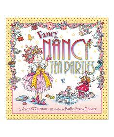 Another great find on #zulily! Fancy Nancy: Tea Parties Hardcover by Fancy Nancy #zulilyfinds