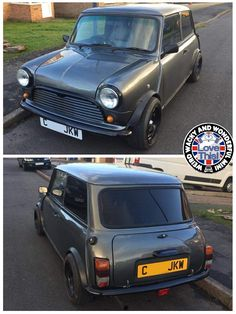 "Good Mornin Miniacs We start the day with another member of the WWWMini Family Fleet. Meet Grommet my best mates pride and joy. Grom has just returned to the road after a winter makeover starting with removing his previous full body wrap & finishing with a ""bloke in a shed"" spray job. I'm sure you'll agree that all Sam's hard work has paid off, Grom is looking stunning! Have a great day folks"