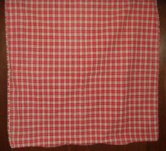 The Gatherings Antique Vintage - 1800 Americana Primitive Homespun Pillowcase Sham, $65.00 (http://store.the-gatherings-antique-vintage.net/1800-americana-primitive-homespun-pillowcase-sham/)