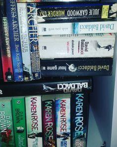 Books and books... #books #bibliophile #bibliotaph #read #bookreader #bookstagramfeature #readerzone #novels #booknerd #bookworm #instaread #bookstagramer #bookstagram #booknook #booknerd #bookshelf #bookshelves