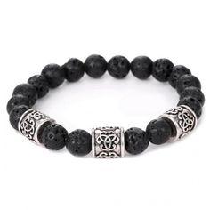 Buddha Beads Bracelet Lava Bracelet c319490ded5e