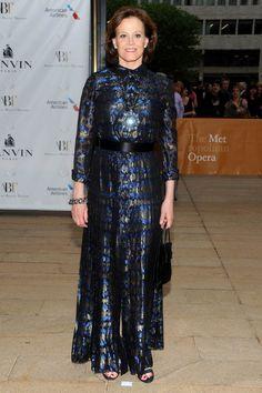 Sigourney Weaver Design: Lanvin